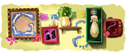 Google Logo: Day of the Dead