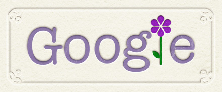 Google Logo: Happy mother's day in Costa Rica